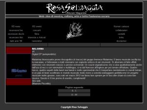 Promo 2012 Rosa Selvaggia
