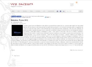 Promo 2012 VerSacrum