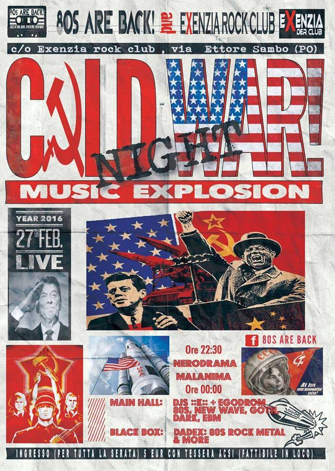 Cold War Night @ Exenzia